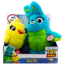 Disney Pixar Toy Story 4 Bunny & Ducky Talking Plush BRAND NEW