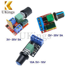 Mini 5A/10A Motor PWM Speed Controller 3V/4.5V-35V Control Switch LED Dimmer K