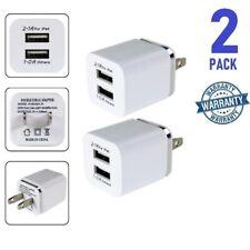 2x  2.1 Amp USB Charger, 5V Dual 2-Port Wall Charger USB Plug Charger Wall Plug