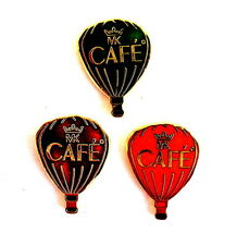 BALLON Pin / Pins - MK CAFE / 3 PINS!!!!!!!!!! [3543]