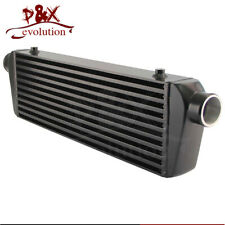 "2.25"" In/Outlet Universal Bar&Plate Front Mount Turbo Intercooler 20""x7""x2.5"""