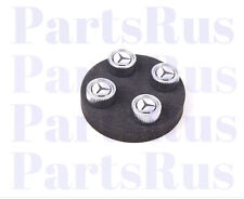 Genuine Mercedes-Benz Tire Valve Stem Caps Silver Q6408128