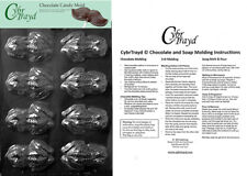 Frog Chocolate Candy Mold In Sealed Poly Bag w/Instructions