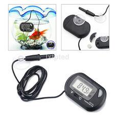 LCD Digital Fish Tank Reptile Aquarium Water Meter Thermometer Temperature