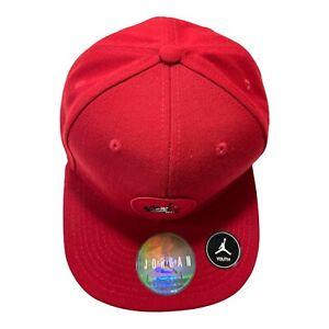 Nike Air Jordan Cap Snap Back Baseball Hat Flat Brim Youth Boys Girls