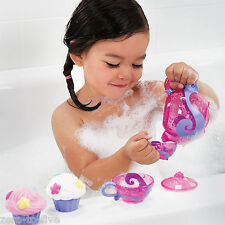 Munchkin Bath Tea And Cup Cake Set - Girls Toddler Bath Toy - Teapot and Cups