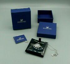New ListingMint Swarovski Light Pink Lavender Crystal & Rhinestone Pendant Necklace Box Mib