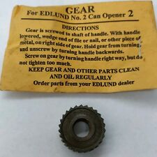 Original Edlund G004Sp Replacement Gear For #2 Can Opener 745-011 Very Rare