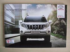 Toyota Land Cruiser-UK sales brochure (2014)