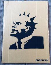 Rare Dismaland Cardboard Art Piece Banksy