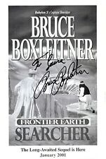 Bruce Boxleitner signed Frontier Earth: Searcher promo photo card / autograph