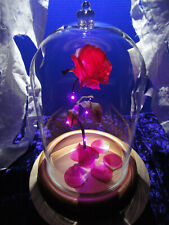 BEAUTY AND THE BEAST ROSE ENCHANTED DISNEY