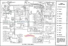JAGUAR WIRING DIAGRAM ELECTRICAL XKE E TYPE 4.2 S2 1969-1971