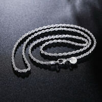 new silver lady wedding Party HOT chain Fashion charms women Necklace Jewelry