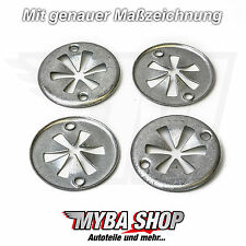 10x Hitzeschutz Abdeckung Metallscheibe für Audi Seat Skoda VW Ford | N90335004