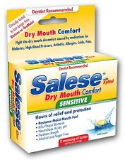 Salese Sensitive Dry Mouth Lozenges | Xerostomia