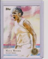 2012 TOPPS OLYMPIC MAYA MOORE GOLD BASKETBALL CARD #60 ~ UCONN ~ WNBA ~MULTIPLES