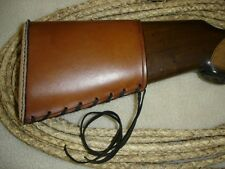 SASS LEATHER STOEGER SHOTGUN, BUTTSTOCK COVER(20 DAYS TO GET IT DOE)