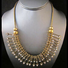 NEW Masino Collection Goldtone Multi Weave Chain Necklace
