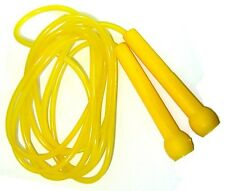 Plastic Skipping Rope PVC Speed Jump Rope Fitness Exercise Workout Jumping Yelow