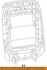 CHRYSLER OEM Front Seat-Seat Back Panel Trim 1UW23DX9AC