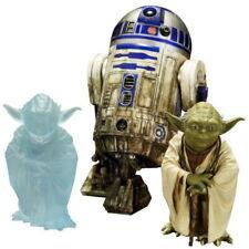 Star Wars 2er set r2-d2 & Yoda Dagobah artfx estatua personaje
