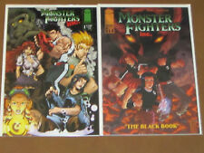 MONSTER FIGHTERS INC #1 + THE BLACK BOOK #1 NM MANGA STYLE J. TORRES FANTASY
