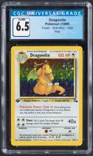 1999 Pokemon Fossil 1st Edition #4 Dragonite - Holo CGC 6.5 EX/NM PSA BGS