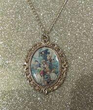 Silver Charm Necklace Pendant Kingdom Hearts Sora Roxas Kairi Mickey 1 2 3