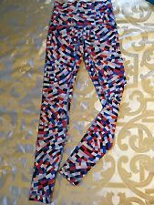 Lululemon Full Length High Rise Wunder Under Capoeira Confetti Size 8