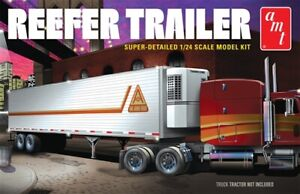 1:24 Scale Thermo King Refrigerated Trailer Plastic Model Kit