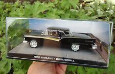 007 JAMES BOND Ford Fairlane 500 -  1:43 BOXED CAR MODEL Thunderball