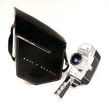 BELL & HOWELL Optronic Eye Super 8 Film Movie Camera w Original Case - C1090 B3