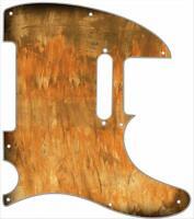 Telecaster Pickguard Custom Fender Tele 8 Hole Guitar Pick Guard Brush Stain