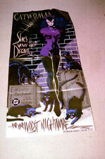 "1993 Dc Comics ""Catwoman"" Huge Promotional Poster"