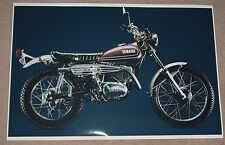 1974 HONDA LINE UP FULL LINE VINTAGE MOTORCYCLE POSTER PRINT 47x36 BIG