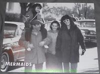 MERMAIDS MOVIE POSTER LOBBY CARD Black & White CHER WINONA RYDER