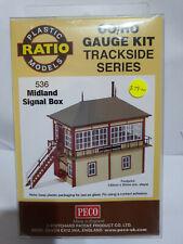 Ratio 536 Midland Signal Box kit OO scale