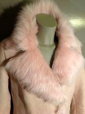 MADELEINE LUXUS Lammfelljacke Gr. 38-40 rosa Perlmuttschimmer NEU ❗️