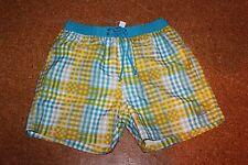 Triumph señores bañador sloggi Ocean Graphics talla 5 amarillo/azul/gris boxer a cuadros