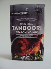 1 x PACK ZESTY INDIAN TANDOORI SEASONING SPICE MIX 1oz/28g GLUTEN FREE BBE 2021