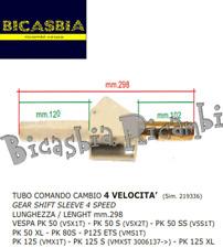 5799 - TUBO COMANDO CAMBIO VESPA 50 80 125 PK S DE SS XL ETS