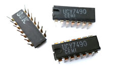UCY 7490 (SN7490AN) UNITRA Decade Counter 7490 IC (1 pcs)