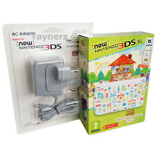 New Nintendo 3DS XL Animal Crossing Happy Home Designer Console Game Chg Bundle