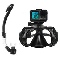 CamGo Diving Mask for DJI Osmo Action Camera with Purge Snorkel