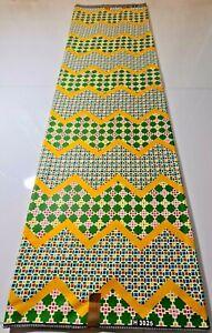 New African Ankara Kente Print Fabric Bright & Colourful Facemask Craft Per Yard