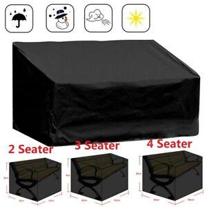Heavy Duty Waterproof Windproof Sand Garden Outdoor 2, 3, 4 Seater Bench Cover