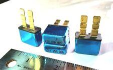 Qty-4 15 amp 12 volt ATC/ATO type 1 auto reset circuit  breaker fuse 4 pc lot