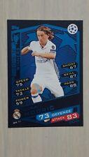 Match Attax UEFA Championship 2016-2017 Winners Luka Modric