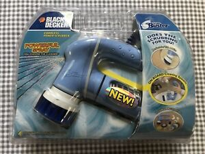 Black & Decker Scum Buster S600 Cleaning Kit Package Cordless Power Scrubber NEW